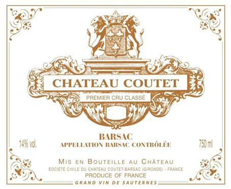 Coutet label