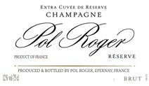 Pol Roger Brut NV label