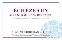 Clerget Echezeaux En Orveaux label