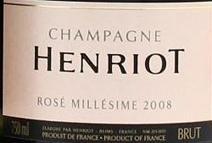 Henriot Rose 2008