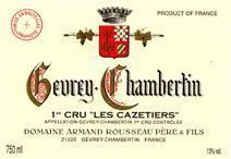 Rousseau Cazetiers label