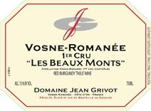 Grivot Beaux Monts label