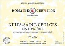 Chevillon Robert Roncieres label