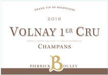 Bouley Pierrick Champans label 2016