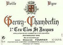 Fourrier Clos St Jacques label