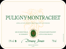 Jomain puligny Villages Label