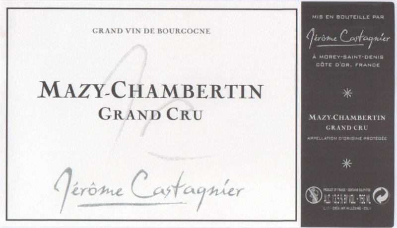 Castagnier Mazis label