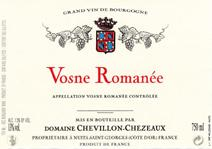 Chevillon-Chezeaux Vosne Label