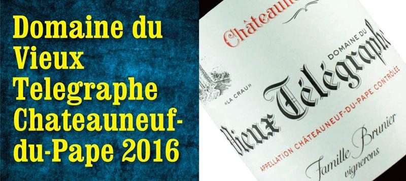 Vieux Telegraphe 2016 header
