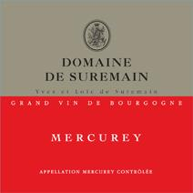Suremain Mercurey Label