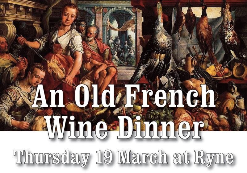 Old French Wine Dinner header