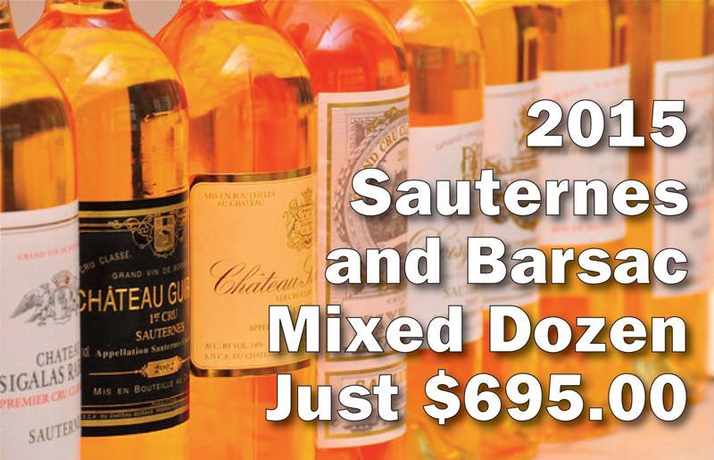 2015 Sauternes Dozen header