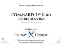 Launay-Horiot Rugiens NV Label
