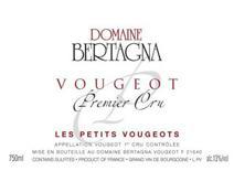 Bertagna Petit Vougeot label