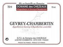 Chezeaux Gevrey label