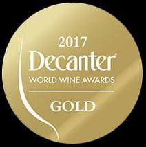 Decanter 2017 Gold Medal