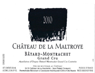 Maltroye Batard 2010 Label