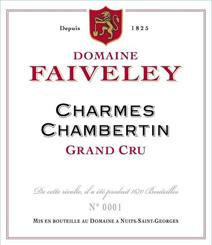 faiveley charmes-chambertin label