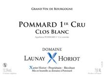 Launay-Horiot Clos Blanc NV Label