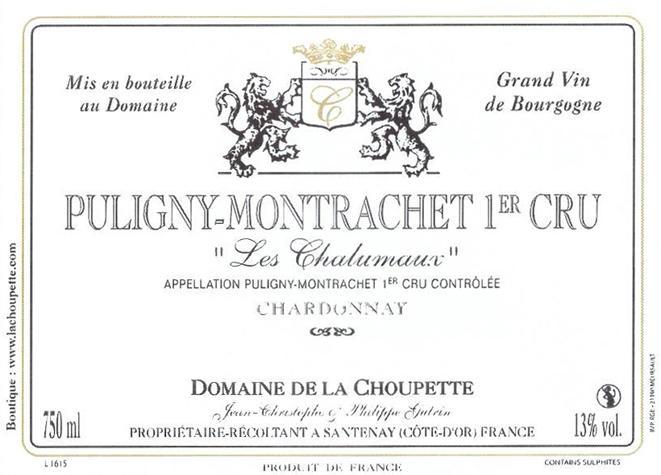 Choupette Chalumaux label NV