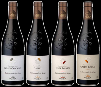 Ogier Terroirs Bottles Black