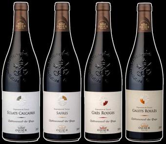 Ogier Terroirs Bottles Black