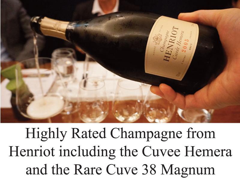 Henriot Champagne header