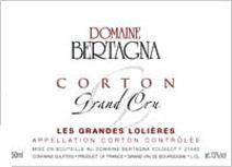 Bertagna Corton Lolieres label