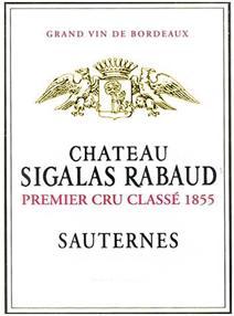 Sigalas-Rabaud label