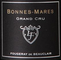 Fopugeray Beauclair Bonnes-Mares Label