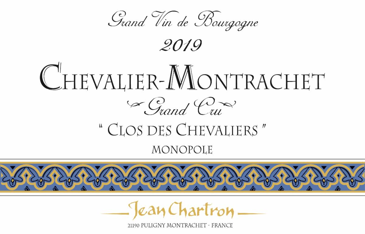 Chartron Chevalier 2019 label