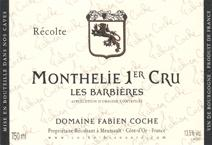 Coche Monthelie Barbieres label