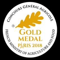 Gold Medal Paris 2018