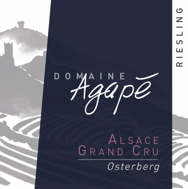 Agape Riesling Osterberg Label