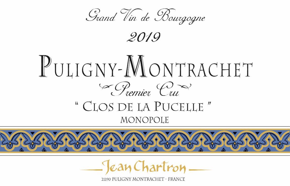 Chartron Pucelle 2019 label