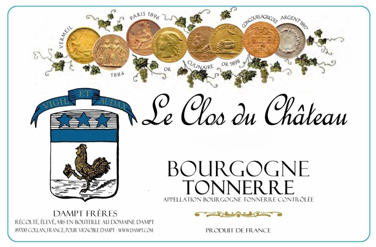 Dampt Clos Chateau label