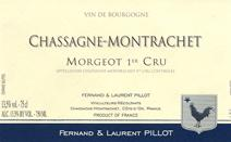 Pillot Morgeot label