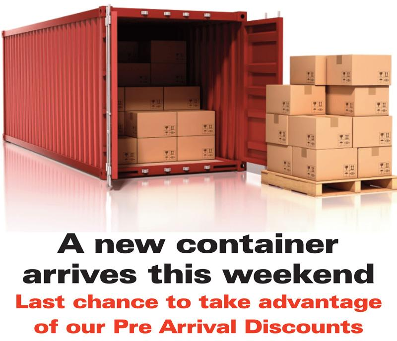 Container this weekend header