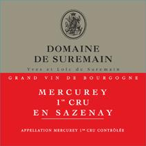 Suremain Sazenay Label