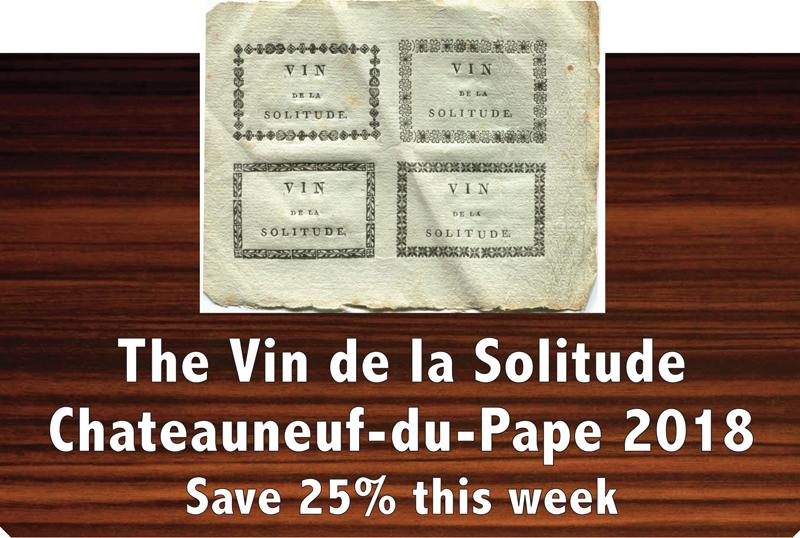 Vin de la Solitude 2018 header