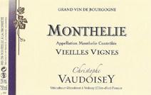 Vaudoisey Monthelie label