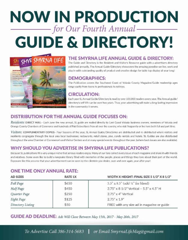 4th Annual Smyrna Life Annual Guide & Directory