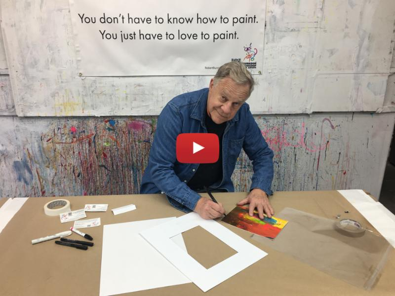 Presenting Paper Paintings