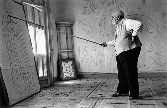 Matisse long handle brush