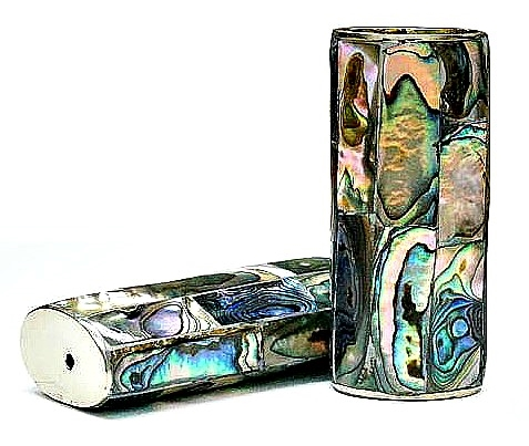 licf finest abalone inlaid lighter case