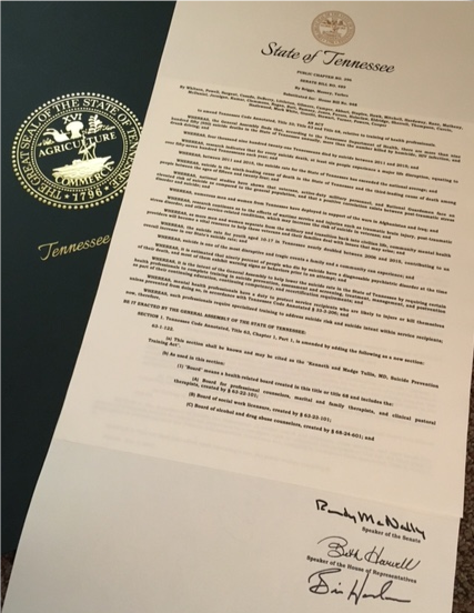 Tullis Act document