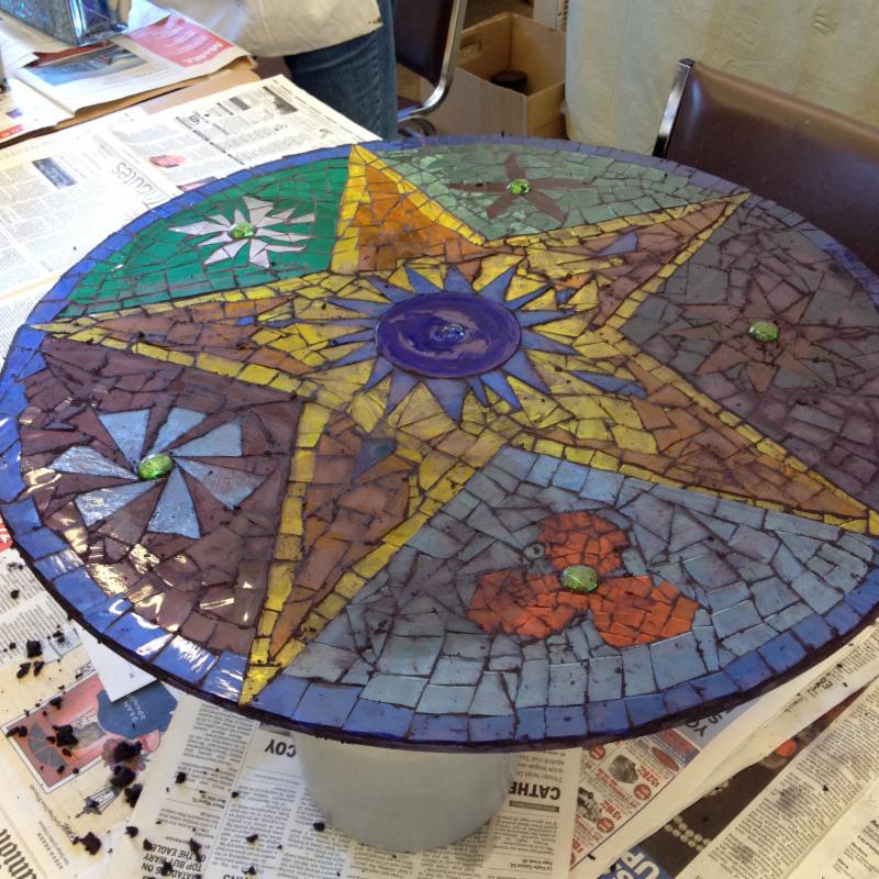 Student Glass Mosaic