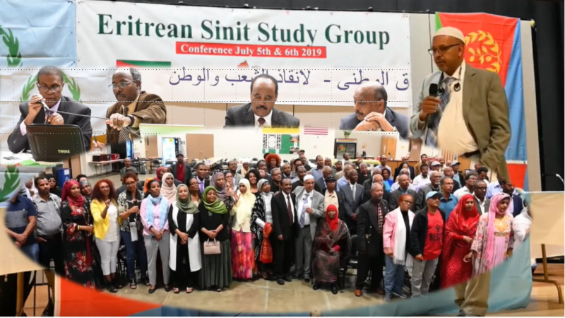 SINIT (Eritrean Sinit Study Group) Special Newsletter. Monday Nov 25th, 2019