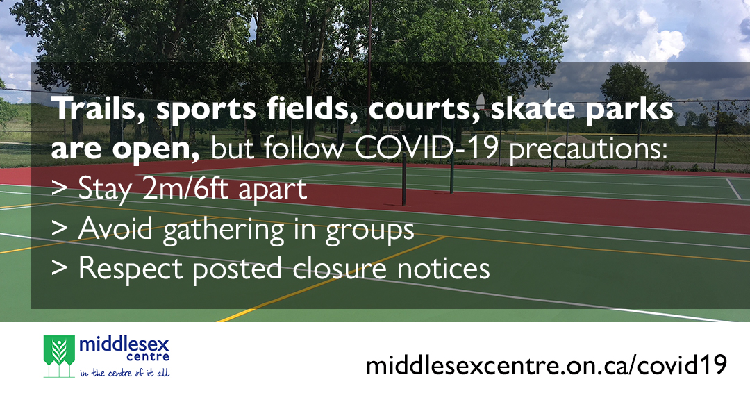 parks open with COVID 19  rules