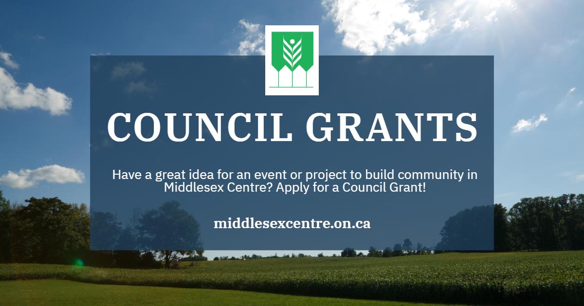 Council Grants header